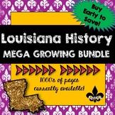 Louisiana History ULTIMATE Growing Bundle