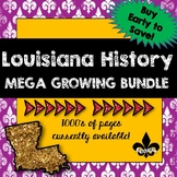 Louisiana History ULTIMATE Growing Bundle