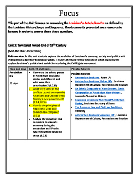 8LAHIST - Unit 3B - Antebellum Politics/Government