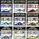 Louisiana History Word Wall 410 Pennants (Louisiana History Bundle)