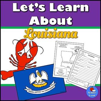 Louisiana History and Symbols Unit Study