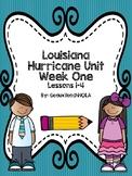 Louisiana Hurricane Unit Week 1