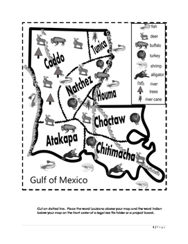 Louisiana Indians Interactive