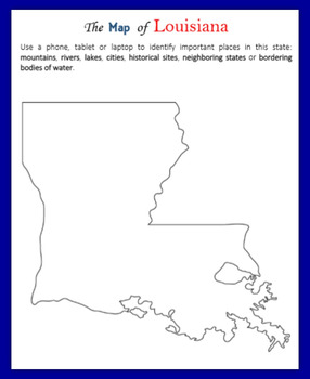 Louisiana (Internet Research)