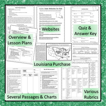 Louisiana Interactive Notebook