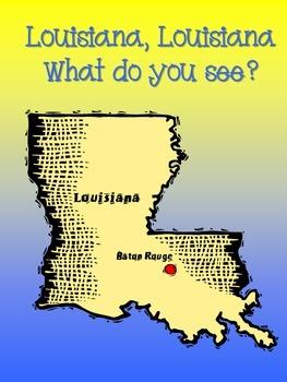 Louisiana, Louisiana What Do You See? (Louisiana symbols booklet/visuals)