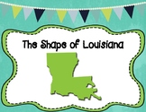 Louisiana Map Outline Assessment