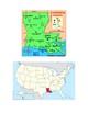 Louisiana Map Scavenger Hunt