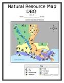Louisiana Natural Resource Map DBQ