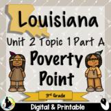 3rd Grade Louisiana History Unit 2 Poverty Point Culture  