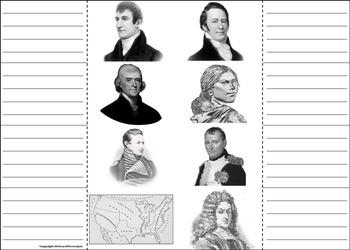 Louisiana Purchase Unit Activity: Lewis and Clark, Sacagawea etc.