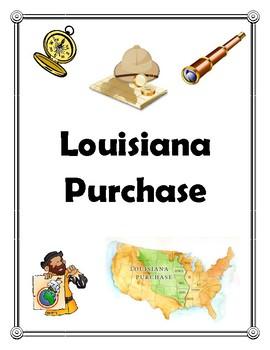 Louisiana Purchase Binder Cover