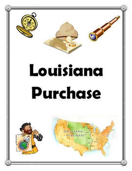 Louisiana Purchase Binder Cover