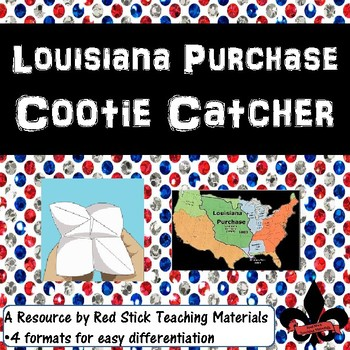 Louisiana Purchase Cootie Catcher