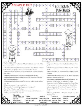 Louisiana Purchase Crossword