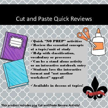 Louisiana Purchase Cut and Paste Review--NO PREP