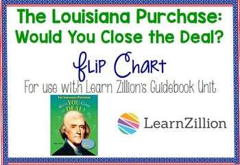 Louisiana Purchase Flip Chart Lessons 3-5