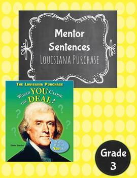 Louisiana Purchase Guidebook Mentor Sentences