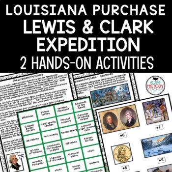 Louisiana Purchase/Lewis and Clark Visual Summary/Primary Source Activity