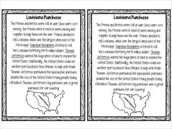 Louisiana Purchase, Lewis and Clarke, & Sacagawea