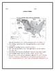 Louisiana Purchase Map Worksheet with Answer Key