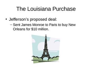 Louisiana Purchase - PowerPoint