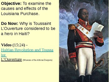 Louisiana Purchase PowerPoint Presentation