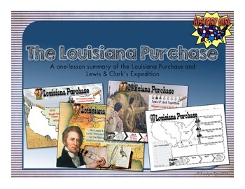 Louisiana Purchase PowerPoint and Infographic