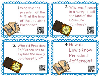 Louisiana Purchase QR Quests