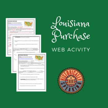 Louisiana Purchase:  Web Activity
