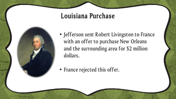 Louisiana Purchase and Exploration