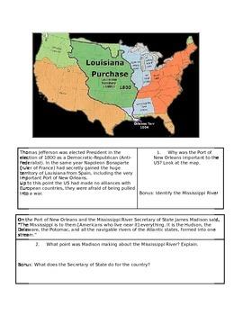 Louisiana Purchase and Thomas Jefferson