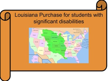 Louisiana Purchase for Students with Significant Disabilities