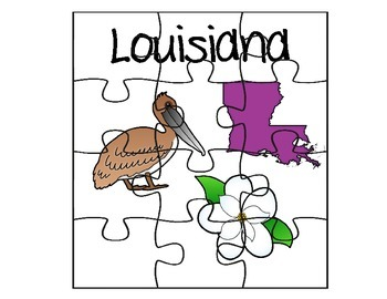 Louisiana Puzzle Set