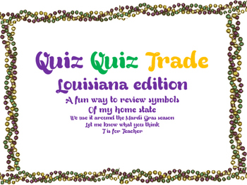Louisiana Quiz Quiz Trade