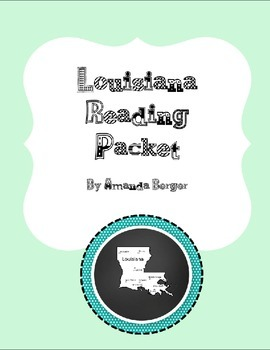 Louisiana Reading Packet