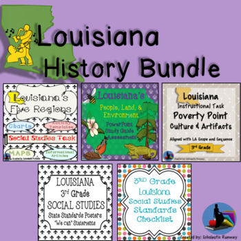 Louisiana 3rd Grade Social Studies Worksheets Teaching