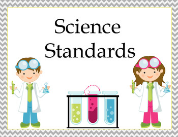 Science Standards Poster