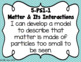 5th Grade Louisiana Science State Standards I Can Statements
