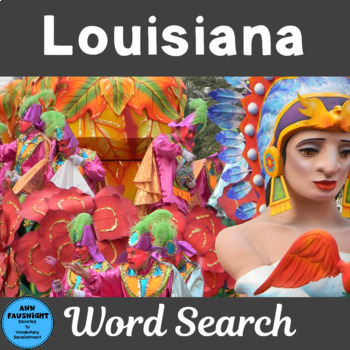 Louisiana Word Search