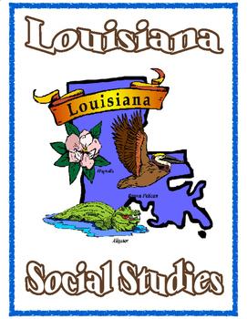 Louisiana Social Studies Binder Cover
