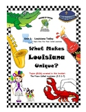 Louisiana Social Studies Booklet 1 - What Makes Louisiana Unique: Location