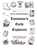 Louisiana Social Studies Booklet 11 - Early Explorers