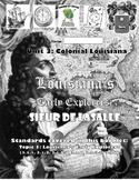 Louisiana Social Studies Booklet 12 - Early Explorers LaSalle
