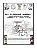 Louisiana Social Studies Booklet 14 - The Cajuns