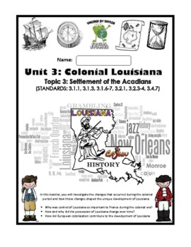 Louisiana Social Studies Booklet 14 - The Cajuns