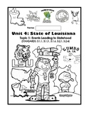 Louisiana Social Studies Booklet 15 - Events Leading To Statehood