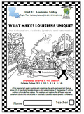Louisiana Social Studies Booklet 7 - What Makes Louisiana Unique: Celebrations