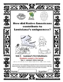 Louisiana Social Studies Booklet 8 - Louisiana's First Inhabitants