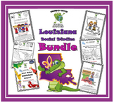 Louisiana Social Studies Booklet **BUNDLE**
